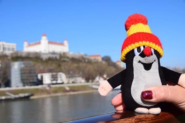 Der kleine Maulwurf a-rosa bella Flusskreuzfahrtschiff Donau Kreuzfahrt Bratislava Slowakei schöne Zeit