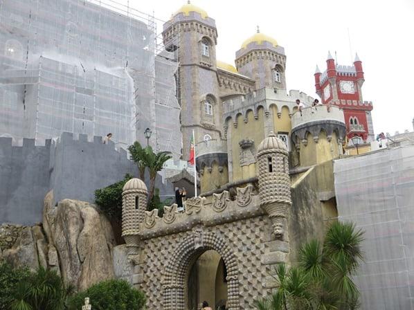 26_Baustelle-Palastrenovierung-Palacio-Nacional-da-Pena-Sintra-Lissabon-Portugal