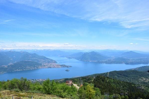 Monte Mattarone Lago Maggiore Berg Piemont Italien
