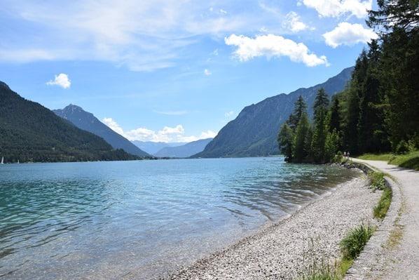 Gaisalm Achensee wandern Wanderung Ufer Tirol Österreich