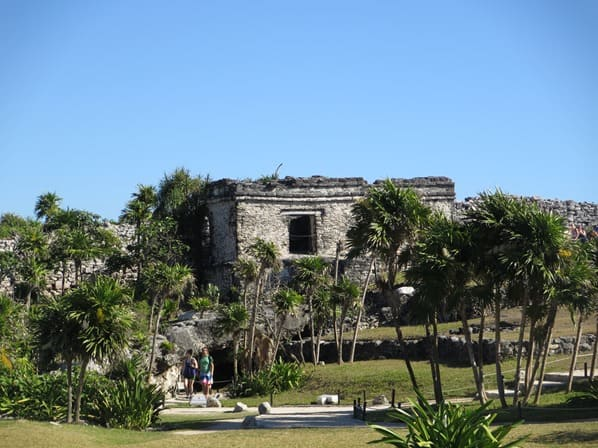 Tulum Mexiko Maya Tempel Karibik Ruine Yucatan