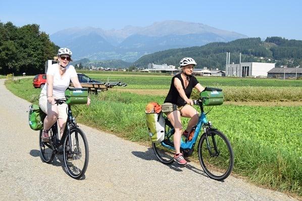 Drauradweg e-bike radeln Kärnten Österreich