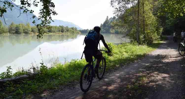 Drauradweg Drau Kärnten Österreich