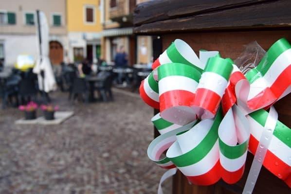Ciclovia Alpe Adria Radweg Schleifchen Pontebba Friaul Julisch-Venetien Italien
