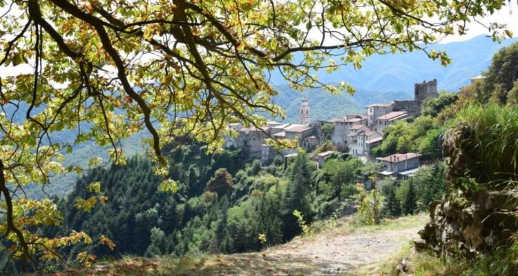 Triora Hexendorf Ligurien Italien