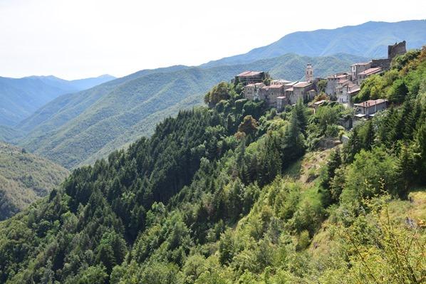 Triora Bergdorf Ligurien Italien