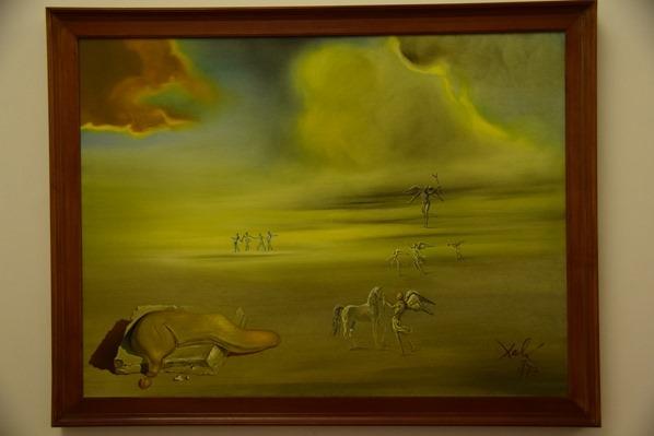 Vatikan Vatikanische Museen Rom Zeitgenössische Kunst Gemälde Salvador Dali Italie