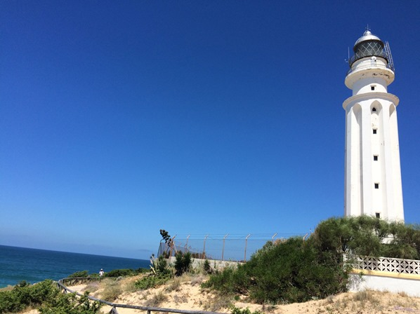 Leuchtturm-Kap-Trafalgar-Andalusien-Spanien