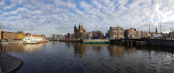 30-Flusskreuzfahrt-Rhein-Sightseeing-Panorama-Nicolaskerk-Kirche-Amsterdam-Holland-Niederlande