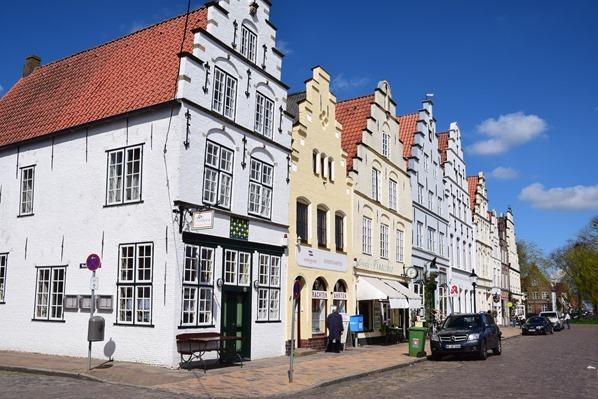 Nordsee Urlaub Altstadt Holländerstadt Friedrichstadt Nordfriesland Schleswig-Holstein Deutschland