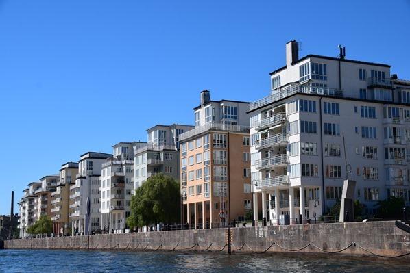 Stockholm Sehenswürdigkeiten Architektur Wohngegend Schweden Ostsee Kreuzfahrt
