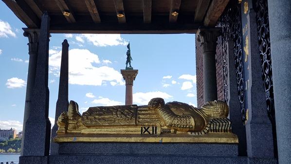 Stockholm Sehenswürdigkeiten Sarkophag Birger Jarl Stadshus Stadthuset Schweden Ostsee Kreuzfahrt