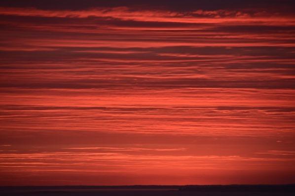Fähre Stockholm Brennender Himmel Sonnenuntergang Midsommar Mariehamn Aland Tallink Silja Ostsee Minikreuzfahrt