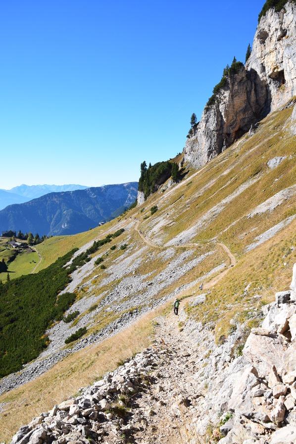 Rofan Achensee wandern Wanderweg Gschöllkopf Tirol Österreich