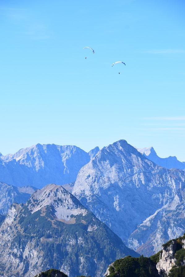 Rofan Achensee wandern Alpen Gleitschirme Tirol Österreich