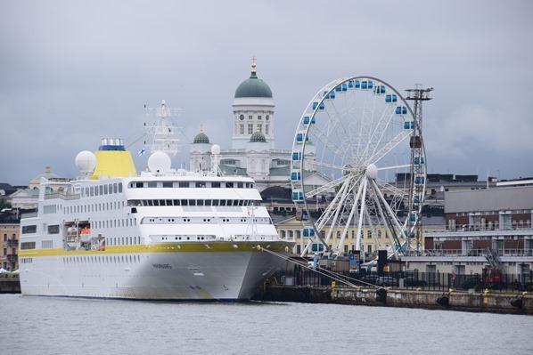 Bootstour MS Hamburg Riesenrad Hafen Helsinki Sehenswürdigkeiten Finnland Minikreuzfahrt Ostsee Baltikum