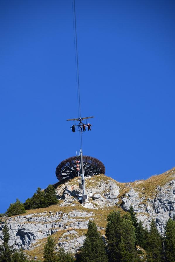 Rofan Achensee wandern AirRofan Skyglider Adlerhorst Gschöllkopf Tirol Österreich