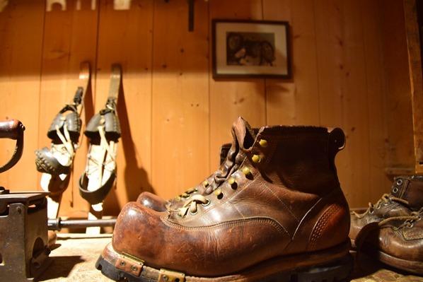 Markus Wasmeier Museum Wintersportmuseum antiker Skischuh Schliersee