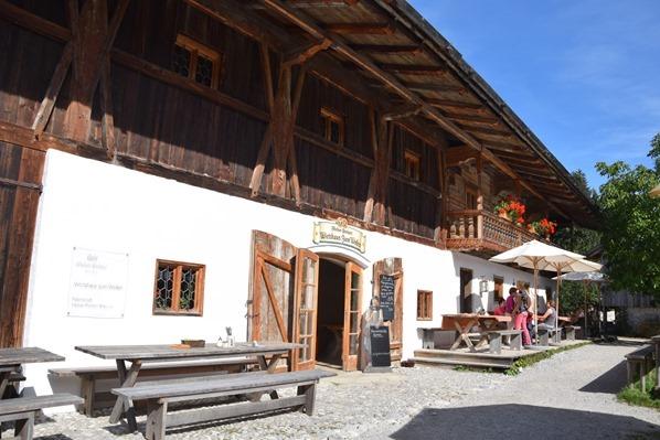 Gasthaus Beim Wofen Biergarten Markus Wasmeier Museum Freilichtmuseum Schliersee