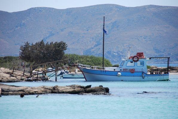 Anleger Strand Elafonisi Kreta Chania Griechenland