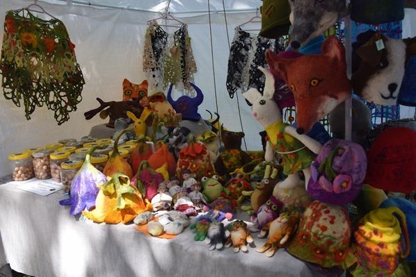 historischer Markt Filz Handwerk Sängerfest Riga Lettland Ostsee Kreuzfahrt