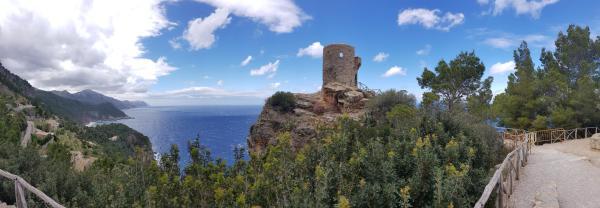 18 panorama mallorca ausflug westkueste torre des verger spanien