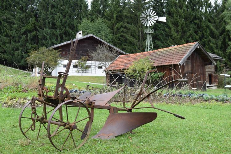 alter bauernhof freilichtmuseum glentleiten oberbayern