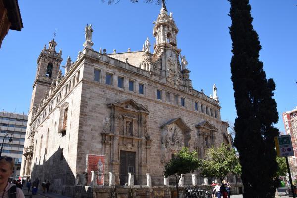 kirche esglesia de sant joan del mercat valencia spanien aida familien kreuzfahrt