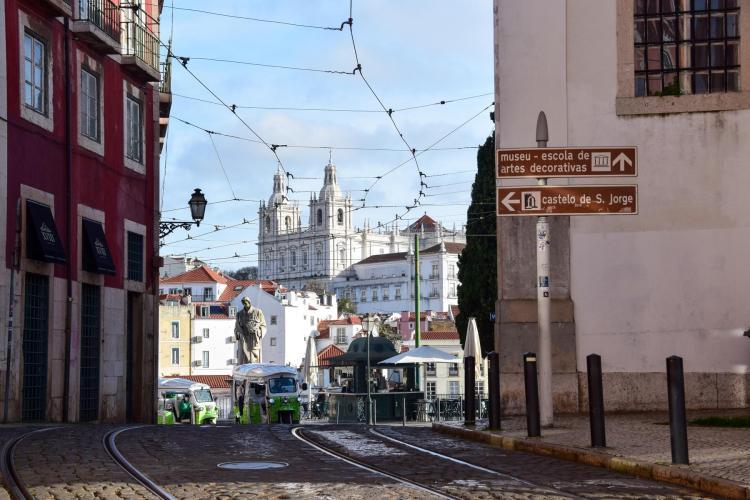 Städtereise Lissabon Sehenswürdigkeiten Kloster São Vicente de Fora Portugal