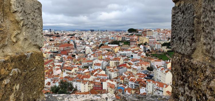 Städtereise Lissabon Sehenswürdigkeiten Festung Castelo de São Jorge Portugal