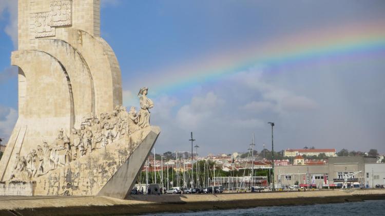 Städtereise Lissabon Sehenswürdigkeiten Padrão dos Descobrimentos Denkmal der Entdecker Belém Portugal