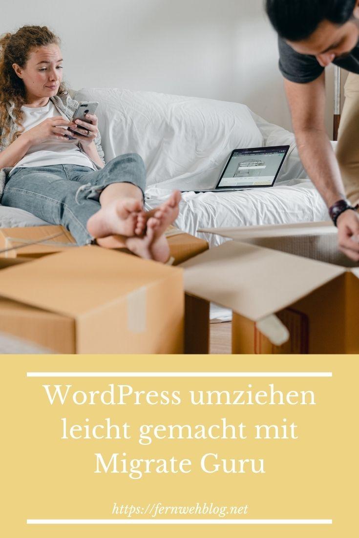 WordPress umziehen leicht gemacht mit Migrate Guru