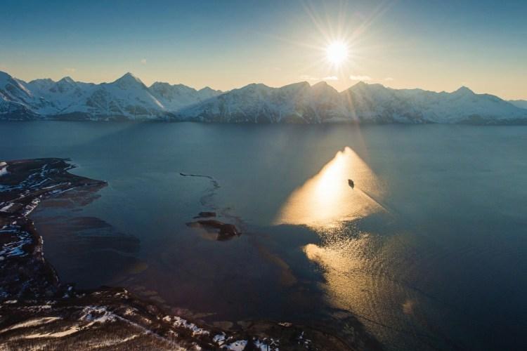 Hurtigruten MS Polarlys Lyngenfjord Norwegen
