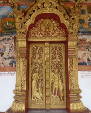 Tempeltür Luang Prabang (Laos)