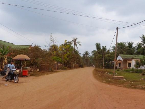 Staubige Landstraßen