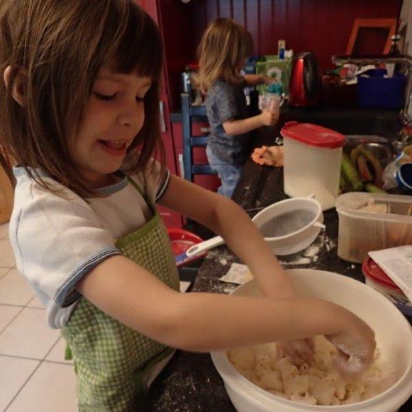 Rabarbara-Kuchen