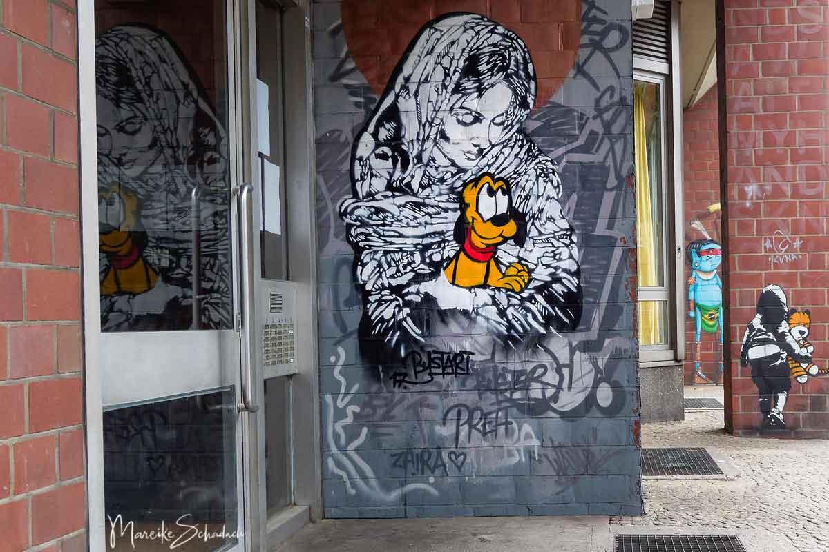 Street Art Berlin Bülowstrasse 94