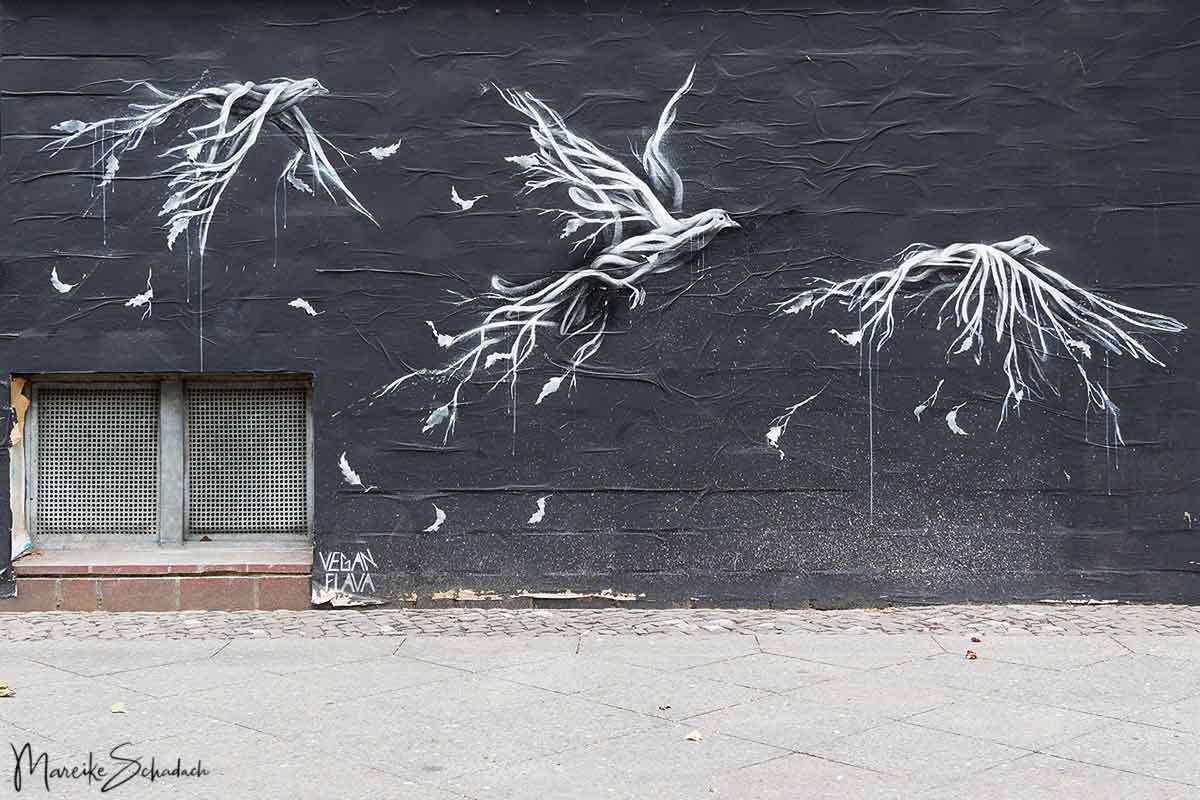 Mural von Vegan Flava - Bülowstrasse / Frobenstrasse