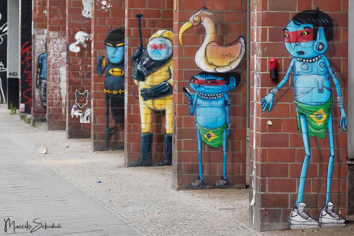 Street Art Bülowstrasse 94