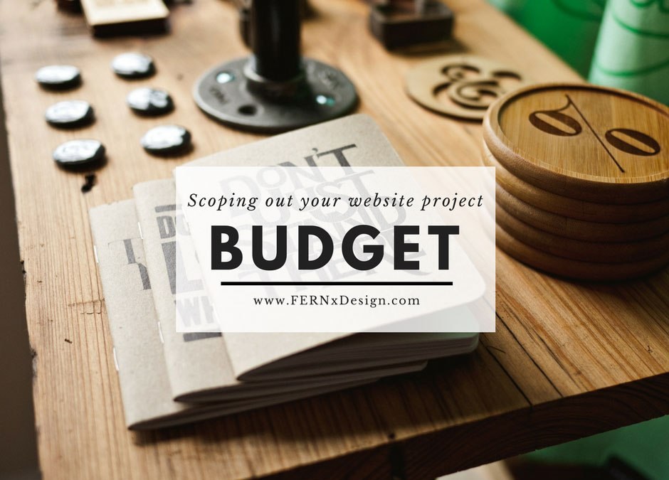The Ultimate Budget Worksheet : calculate how much your website will cost