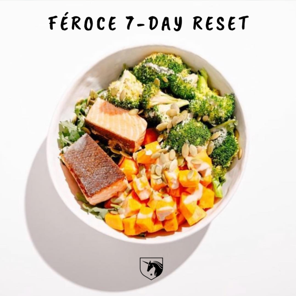 Feroce 7-Day Reset Meal Plan