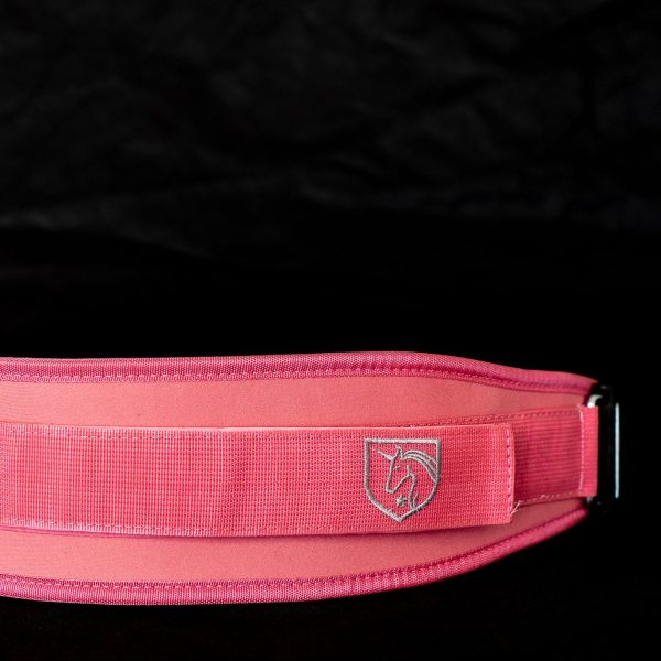 feroce pink weightlifting belt,