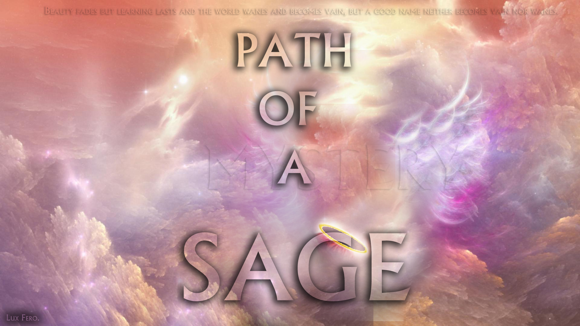 Read more about the article Immortal Precepts: The Path Of A Sage.