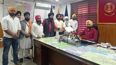 Sikh outfits submit memorandum to DC against Punjab DGP for Kartarpur remark