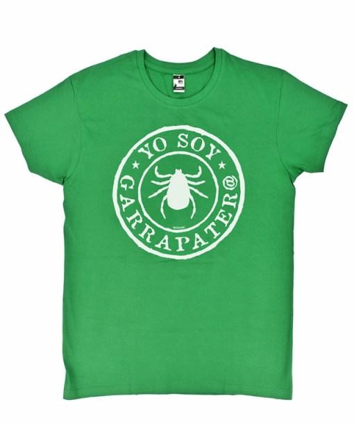 Camiseta-Hombre-Yo-Soy-Garrapatero-Verde