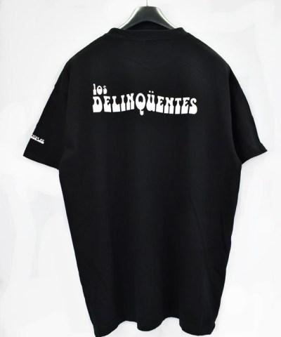 Camiseta-Hombre-Los-Delinquentes-Bienvenidos-Negra-atras