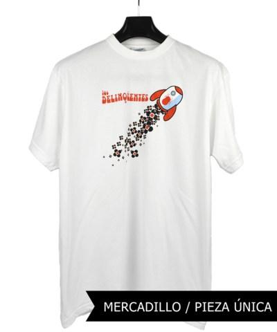Camiseta-Hombre-Los-Delinquentes-Telescopio-Blanca