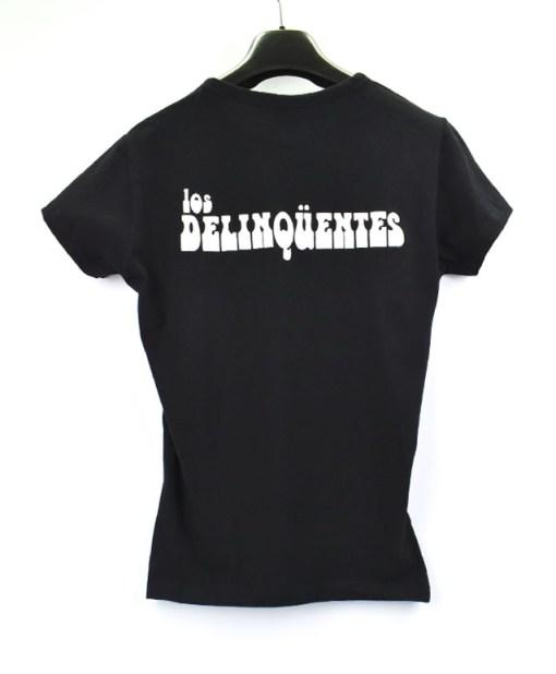 Camiseta-mujer-Los-Delinquentes-Bienvenidos-negra-atras