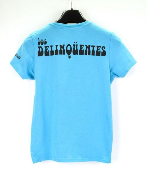 Camiseta-mujer-Los-Delinquentes-Recuerdos-Celeste-atras