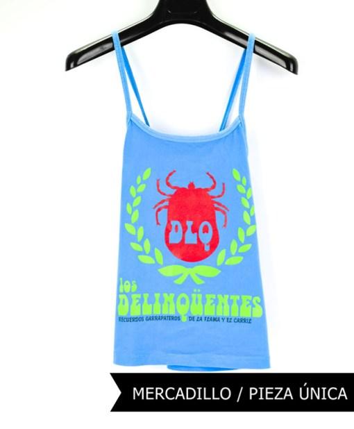 Camiseta-mujer-Los-Delinquentes-Recuerdos-Tirante